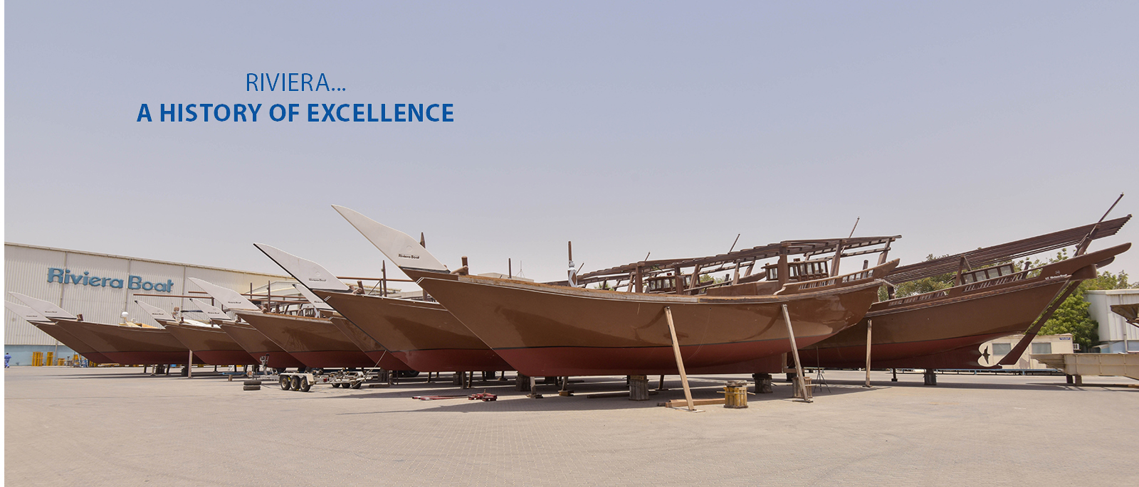 Riviera Boats Yard Pools Trading In Uae